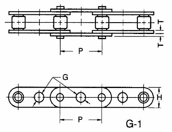 PEER Chain Factory New! C2060 Heavy RIV X 10 FT SK-2 EL MFG. Stock # 5940