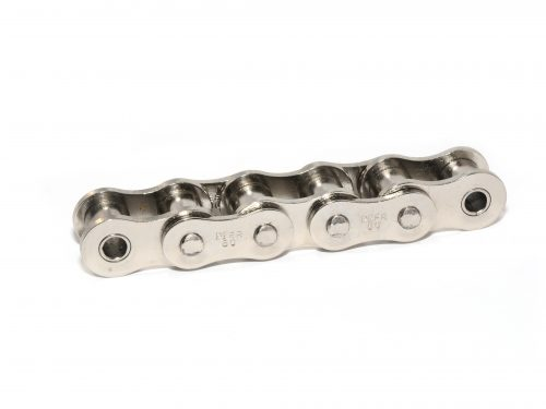 Nickel-Plated Roller Chain