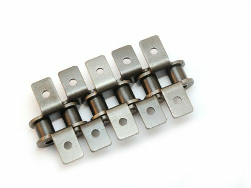 ANSI Standard Roller Chain with Attachments for Sprockets