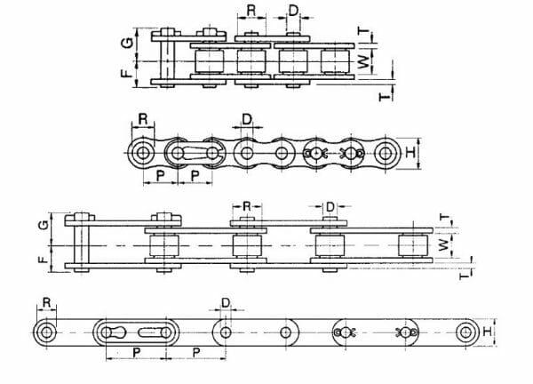 C2080 Heavy Stainless Quest X 50 FT K-1 E4LR SR 50 FT Reel PEER Chain